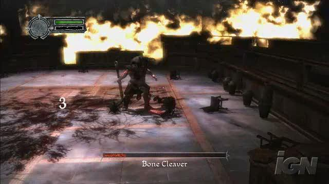 Conan PlayStation 3 Gameplay - Bone Cleaver