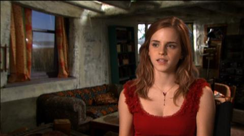 "Harry Potter and the Deathly Hallows Part 1 (2010) - Interview ""Emma Watson On The Journey Away From Hogwarts"""