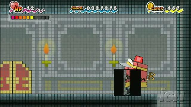 Super Paper Mario Nintendo Wii Trailer - Mario Explores