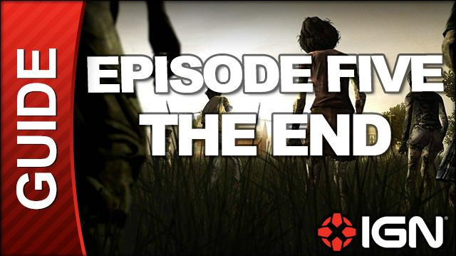 **SPOILERS** The Walking Dead Episode 5 No Time Left Walkthrough - Chapter 7 THE END