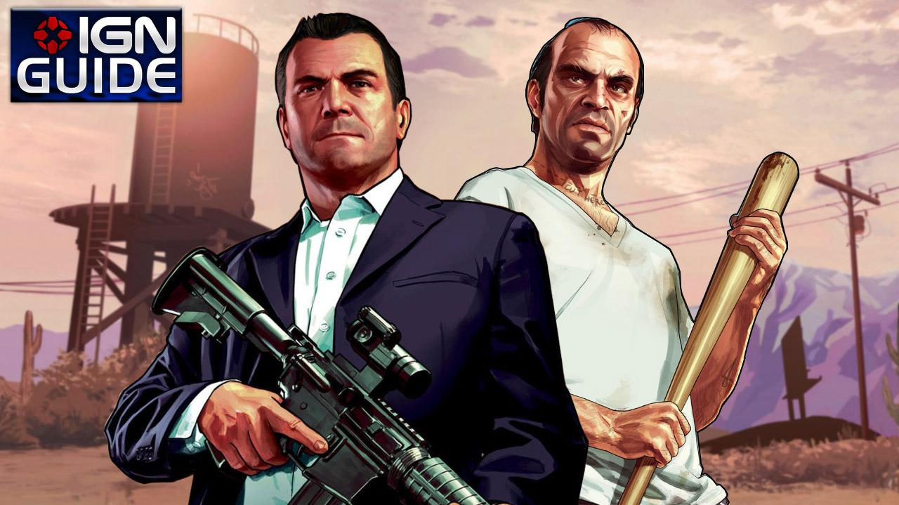 GTA 5 Walkthrough - Story Mission Prologue