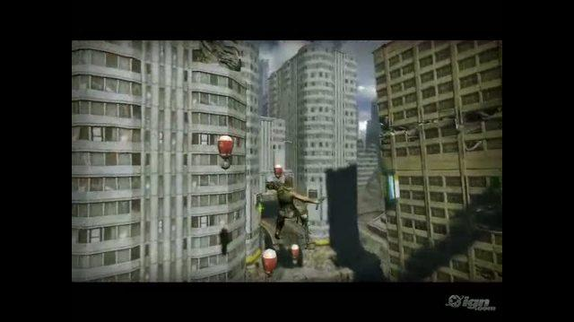 Bionic Commando PlayStation 3 Trailer - Swing Trailer