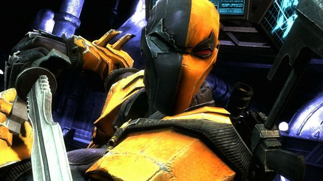 Injustice Gods Among Us Deathstroke Trailer