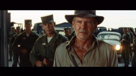 Indiana Jones and the Kingdom of the Crystal Skull The Complete Adventures Blu-Ray (2008) - Clip The Warehouse