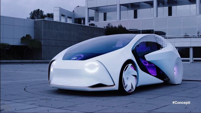 Official Toyota Concept-i CES 2017 Trailer