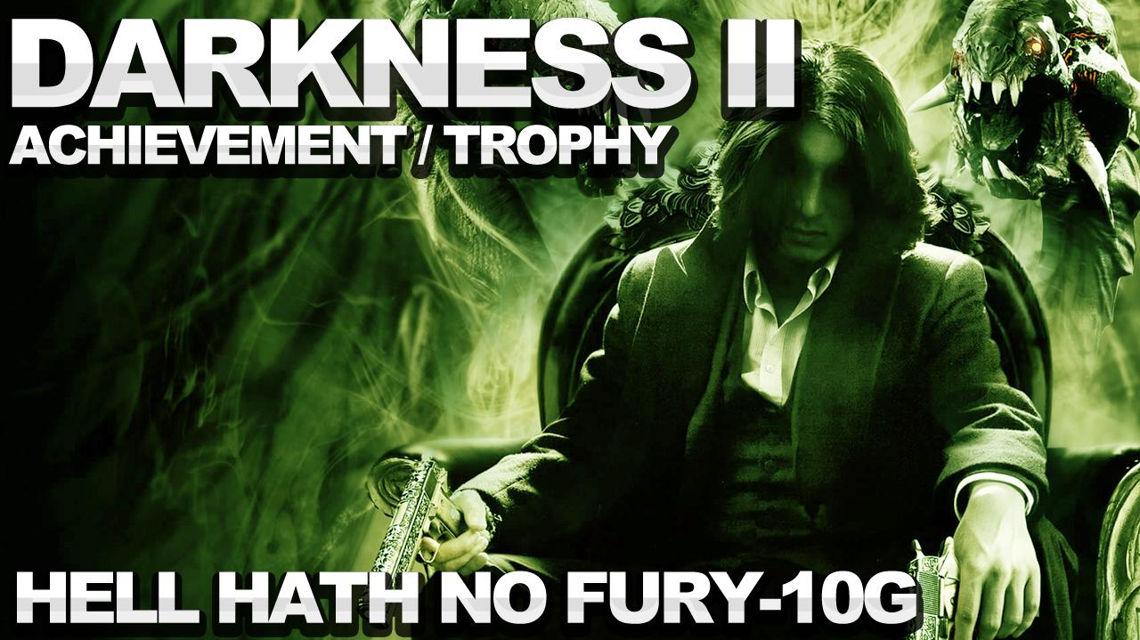 The Darkness 2 - Hell Hath No Fury Achievement Trophy