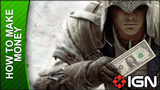 Assassin's Creed 3 Walkthrough - How to Make Money