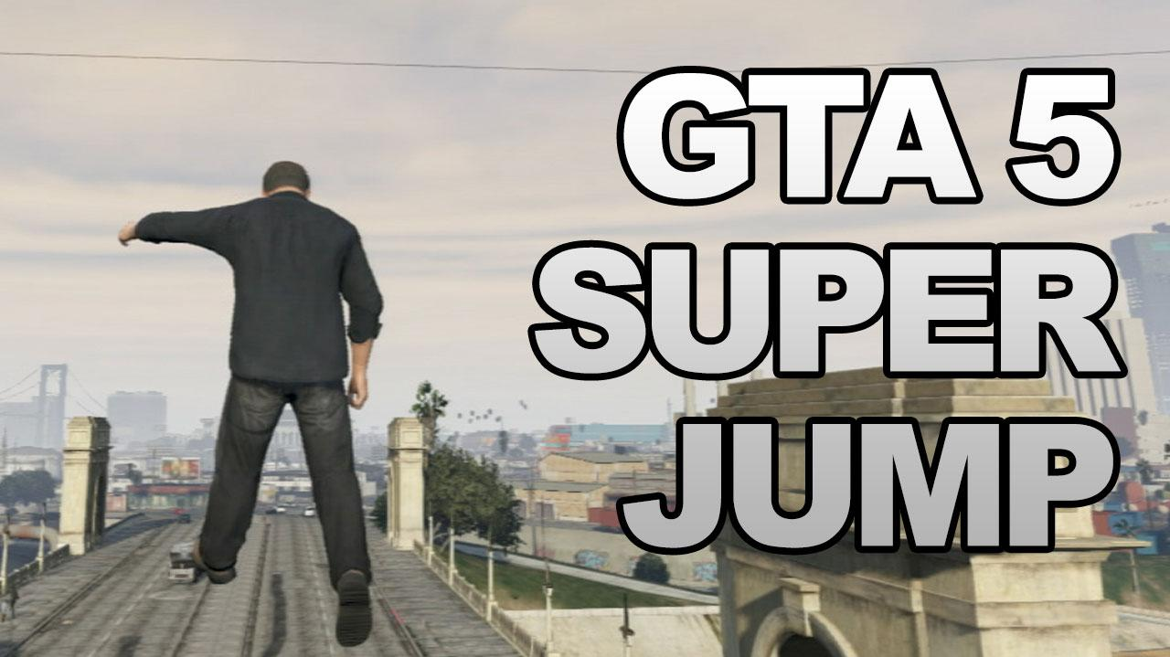 GTA 5 Super Jump Cheat Code