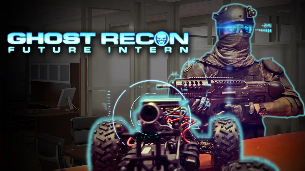 Ghost Recon Future Intern Future Soldier Parody