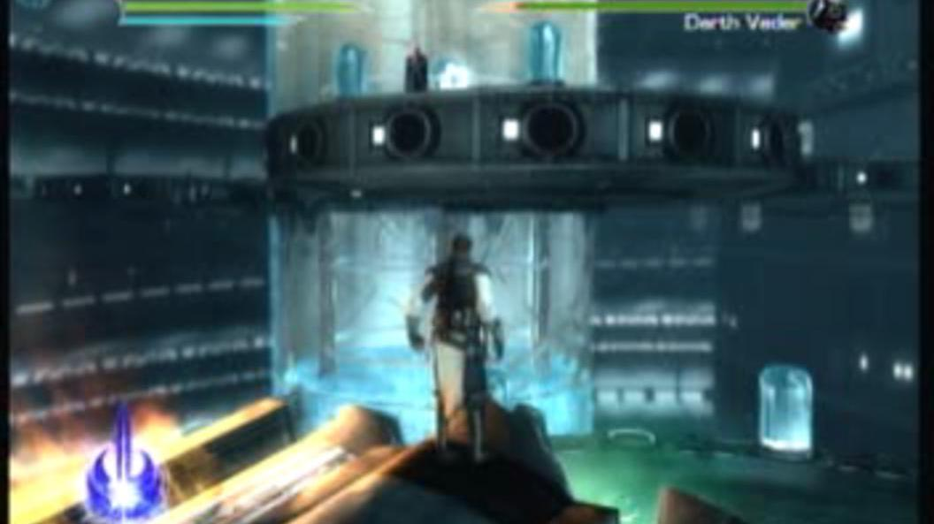 Star Wars Force Unleashed 2 Darth Vader Boss Fight