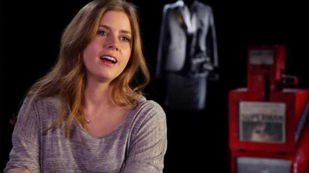 Superman Man of Steel Interview - Amy Adams