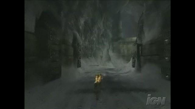 Tomb Raider Anniversary PlayStation 2 Gameplay - Leap of Faith