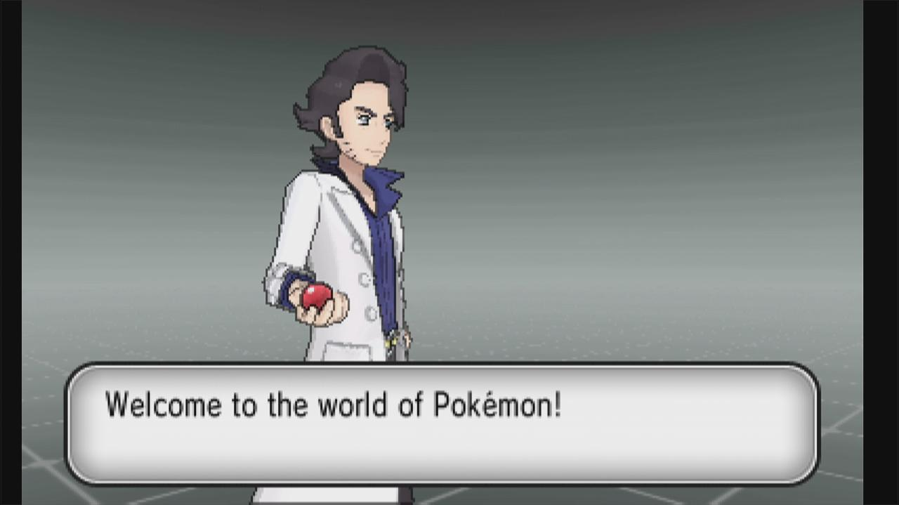 Video Pokemon X And Y Walkthrough Creating A Character