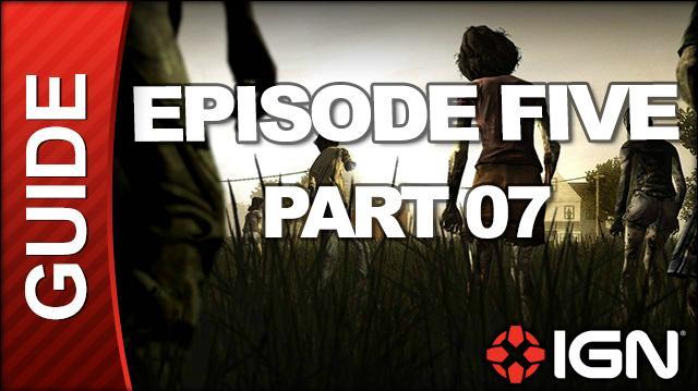 **SPOILERS** The Walking Dead Episode 5 No Time Left Walkthrough - Chapter 6 The Stranger