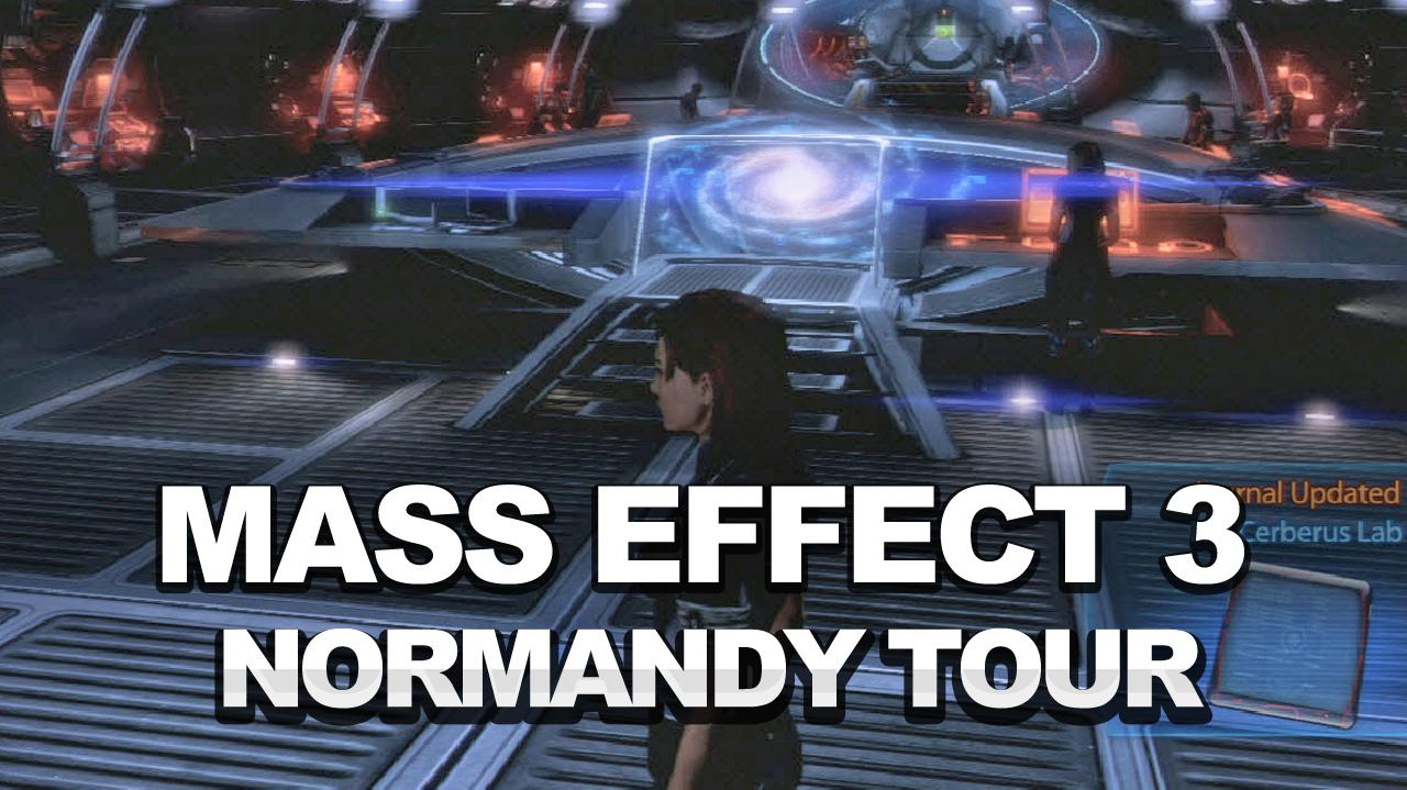 Mass Effect 3 - A Tour of the New Normandy