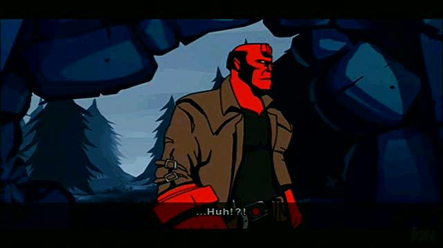 Hellboy The Science of Evil Sony PSP Gameplay - Witch Hunt