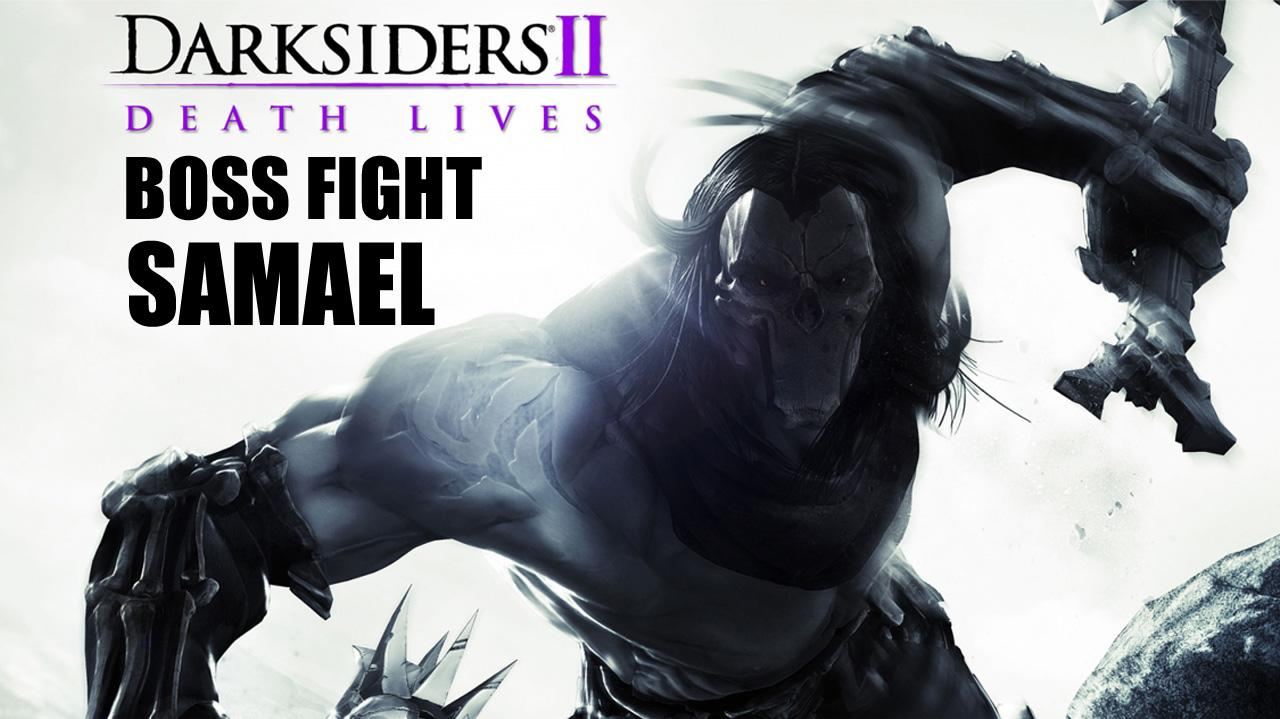 Darksiders II Boss Fight Samael - Gameplay
