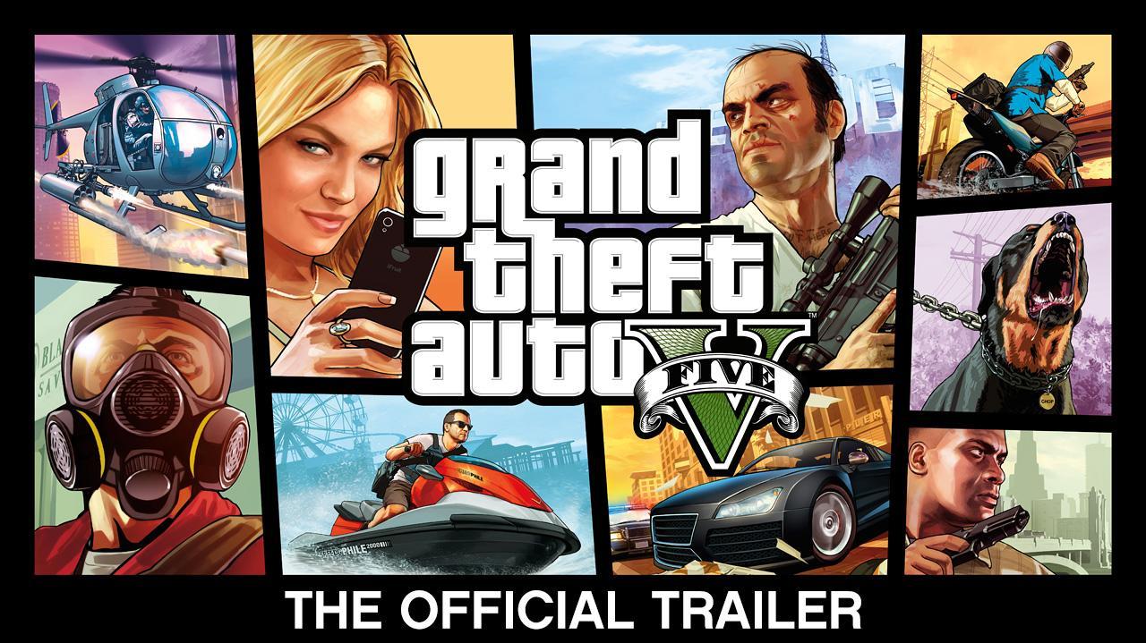 Grand Theft Auto V The Official Trailer
