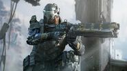 Prophet Gameplay Black Ops 3 - Hardpoint on Evac