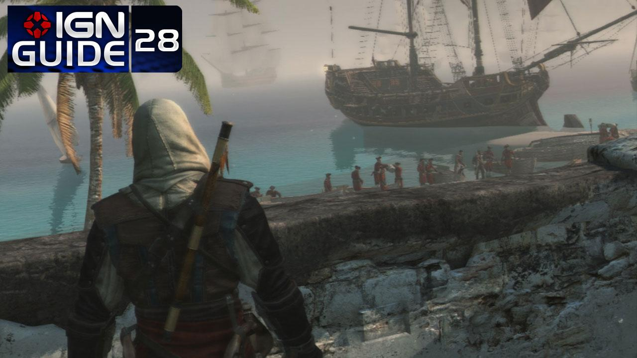 Assassin's Creed 4 Walkthrough - Sequence 07 Memory 01 We Demand a Parlay (100% Sync)