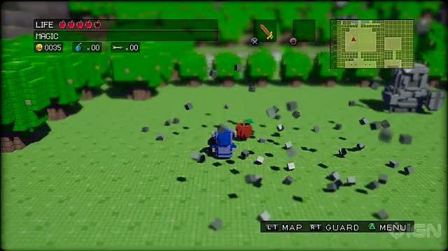 3D Dot Game Heroes PlayStation 3 Video - IGN Montage Swordplay