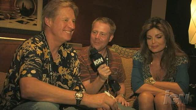 Babylon 5 The Lost Tales DVD Interview - Bruce Boxleitner & Tracy Scoggins (SDCC 07)