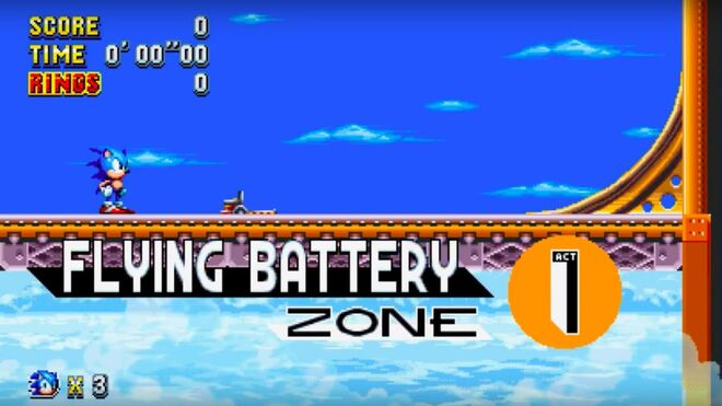 Sonic Mania Official Flying Batter Zone Reveal Trailer
