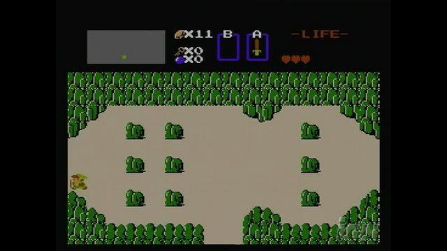 The Legend of Zelda Retro Game Gameplay - Exploring Hyrule
