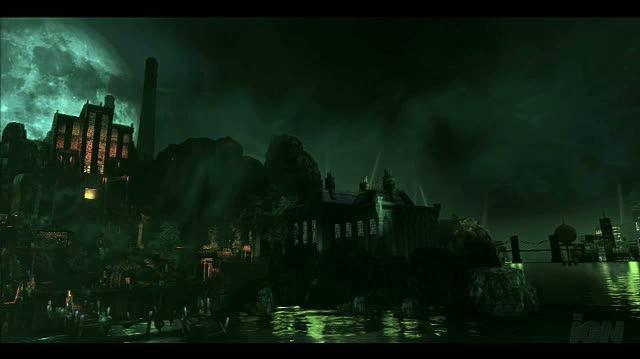 Batman Arkham Asylum Xbox 360 Trailer - Enviroment Trailer