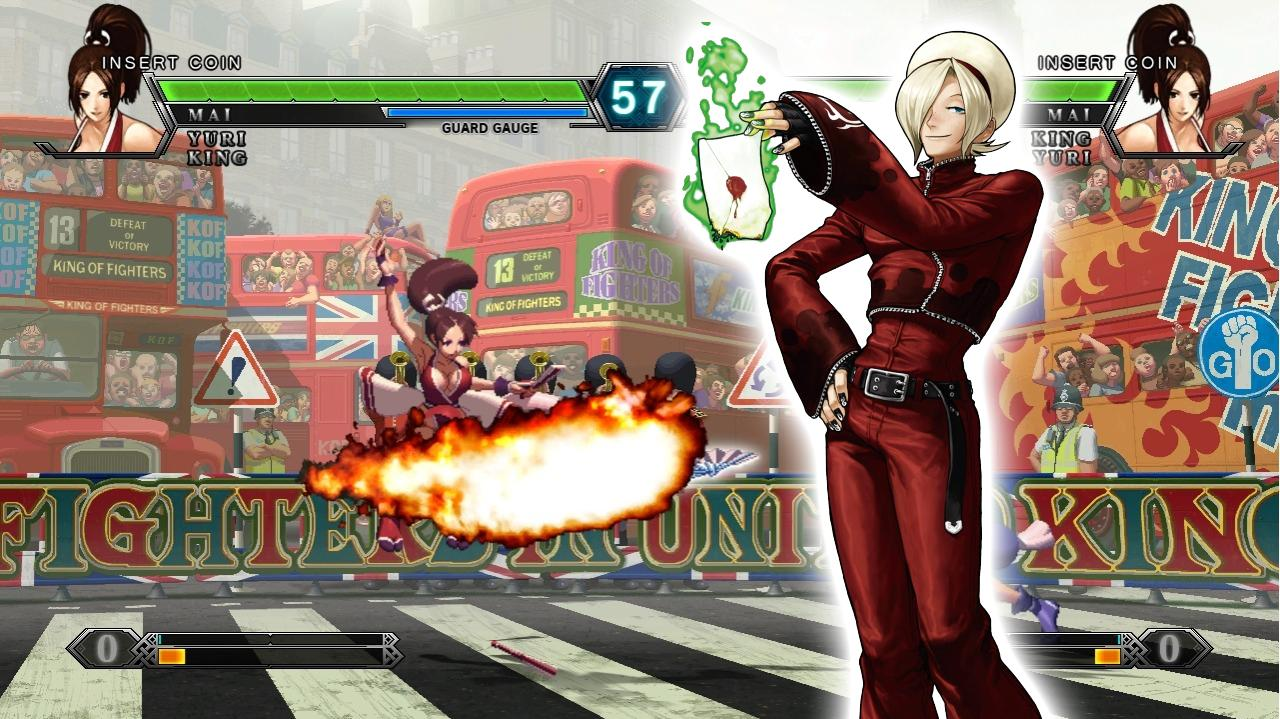 King of Fighters XIII Set 1 Cafe ID Lacid VS Yang Yao Ren - EVO 2012 Top 8