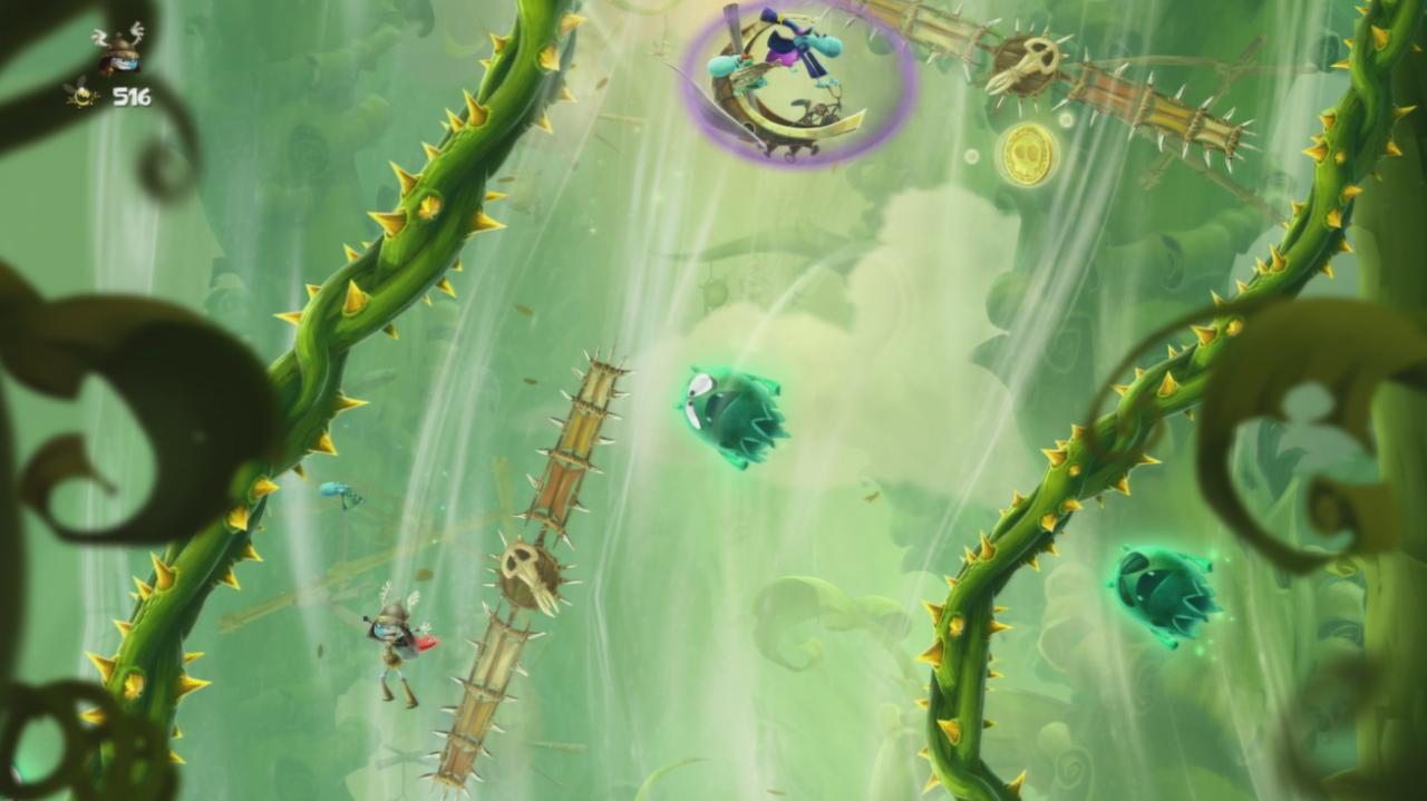 Rayman Legends Walkthrough Toad Story - Altitude Quickness