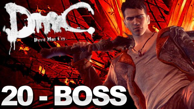 DMC Devil May Cry Walkthrough Part 20 The End - Vergil Boss Fight (W Commentary)