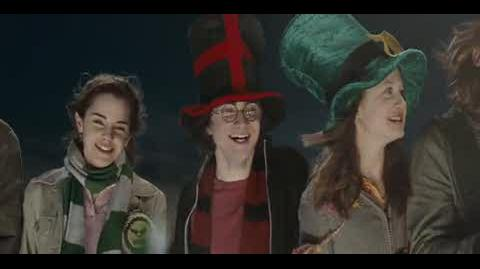 Harry Potter and the Goblet of Fire - Cheering for the teams