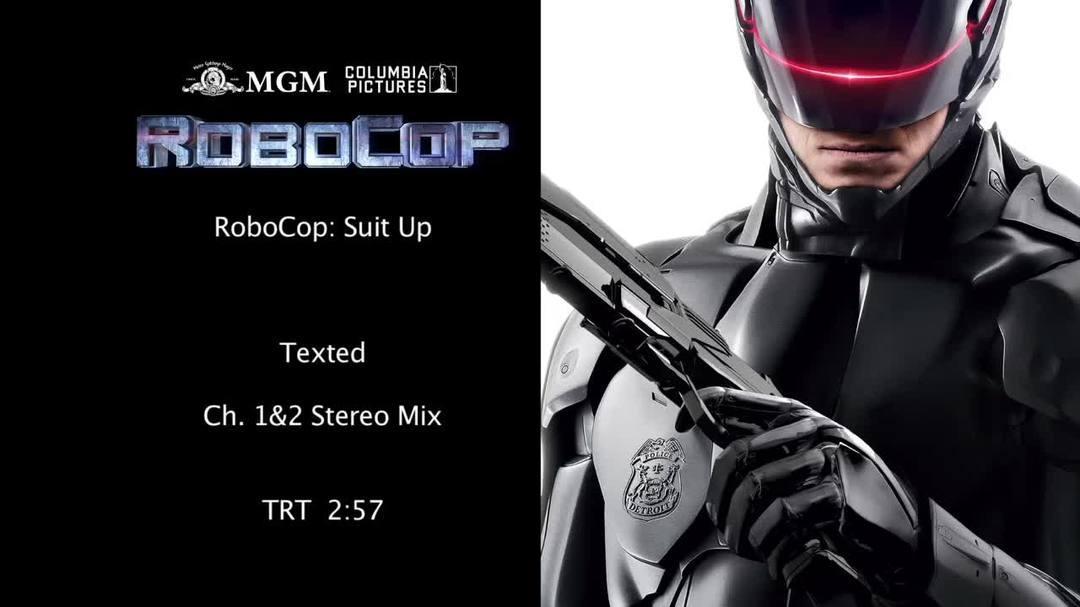 """Robocop - """"Suit Up"""" Featurette"""