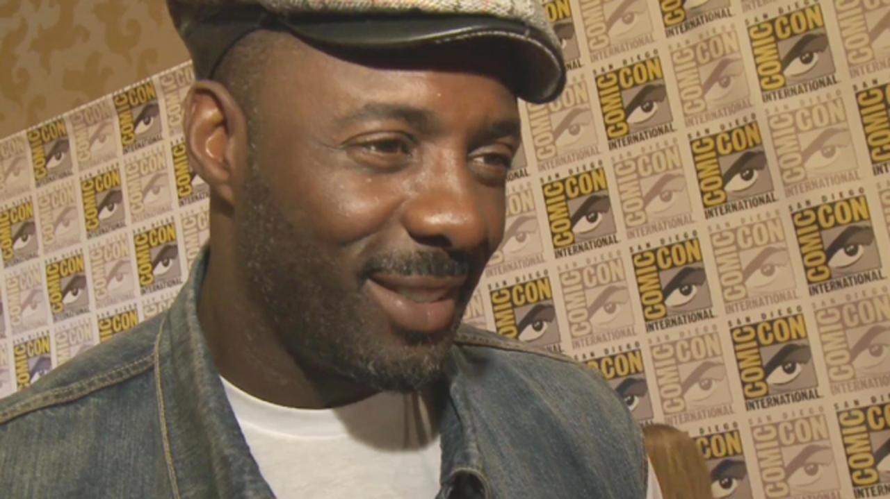 Comic-Con Ghost Rider 2 - Idris Elba