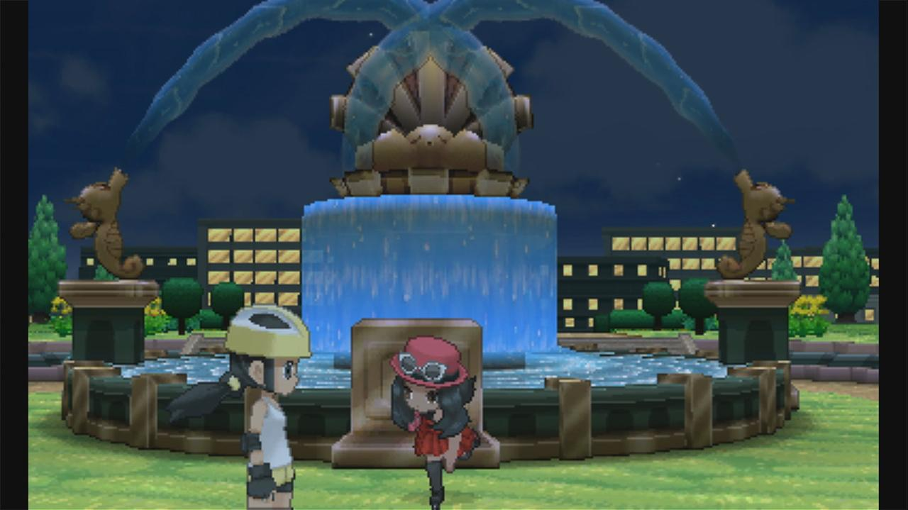 Pokemon X and Y Walkthrough Route 4 - Parterre Way