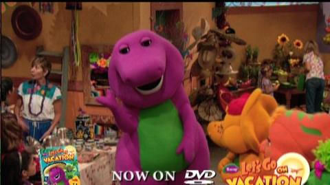Barney Let's Go On Vacation (2009) - Clip Barney sings