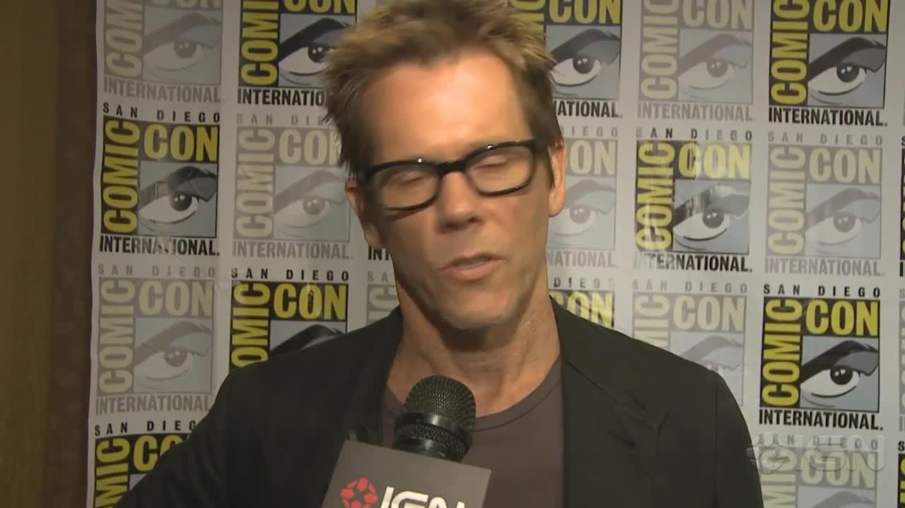 The Following Why Serial Killers Brought Kevin Bacon to TV - Comic-Con 2012