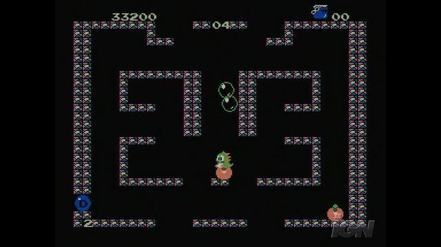 Bubble Bobble Retro Game Gameplay - Blowing Bubbles
