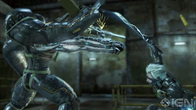 Metal Gear Rising Revengeance E3 Teaser
