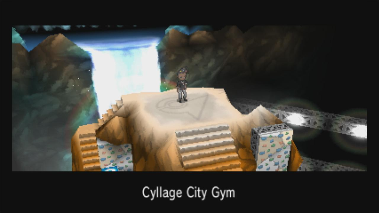 Pokemon X and Y Walkthrough Cyllage Gym - The Cliff Badge