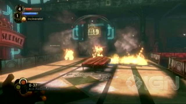 BioShock 2 Xbox 360 Guide-Walkthrough - Walkthrough Big Sister Boss Fight