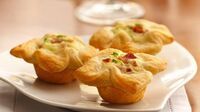 How to make onion tartlet appetizers