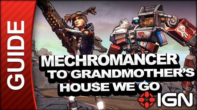 Borderlands 2 Mechromancer Walkthrough - To Grandmother's House We Go - Side Mission