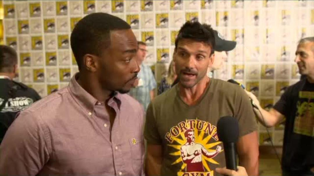 Captain America The Winter Soldier - Anthony Mackie & Frank Grillo