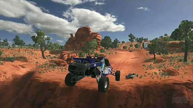 Baja Edge of Control Xbox 360 Trailer - Big Air