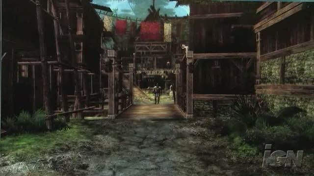 Age of Conan Hyborian Adventures PC Games Gameplay - Level Fly-By (Off-Screen)
