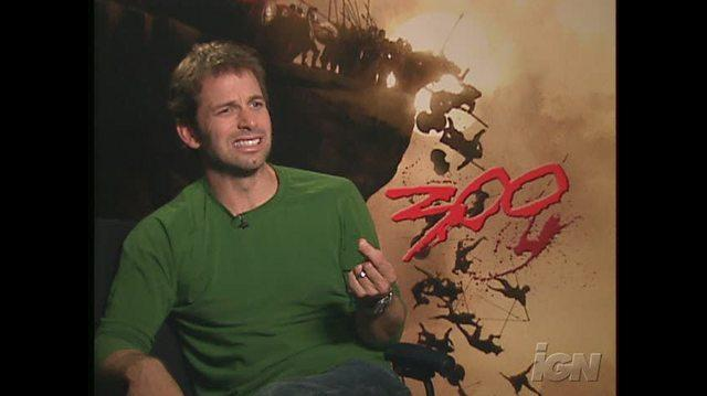 300 Movie Interview - Zack Snyder