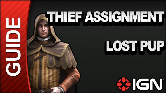 Assassin's Creed Brotherhood Walkthrough - Thief Assignments Lost Pup