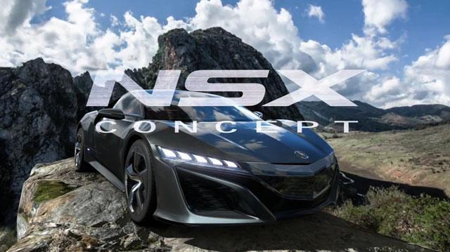 Gran Turismo 5 Acura NSX Concept Trailer